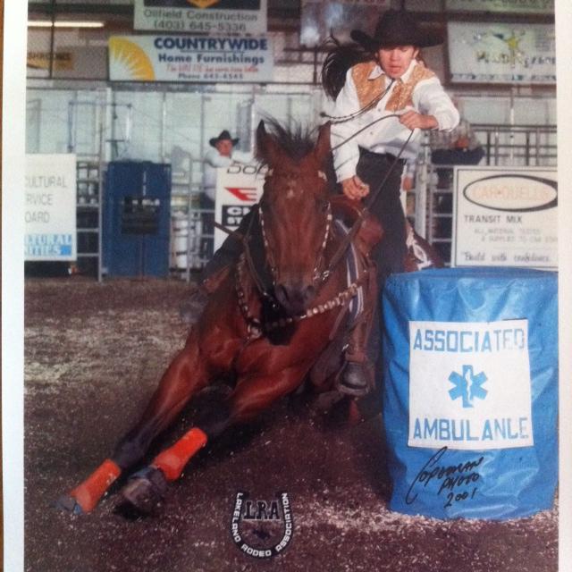 Rylee & Badger LRA Finals 2001