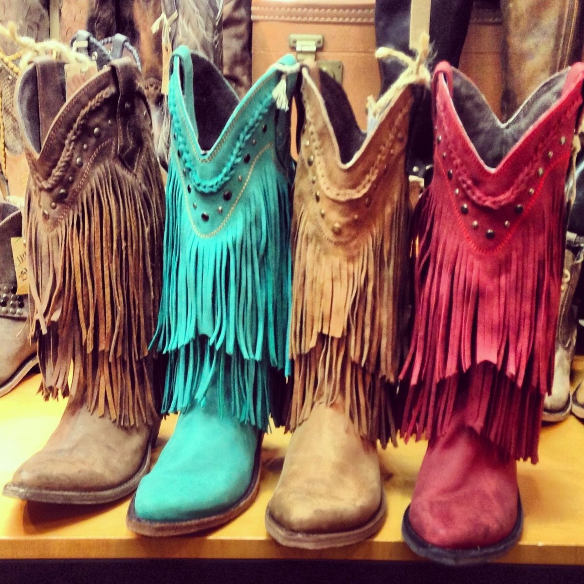 Wonderful Pics Photos  Fashion Womens Cowboy Boots